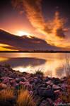 Sunrise Over Lake Ladora