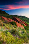 Colors Of A Colorado Spring Sunrise