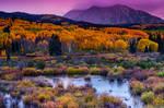 A Colorado Fall Along Kebler Pass