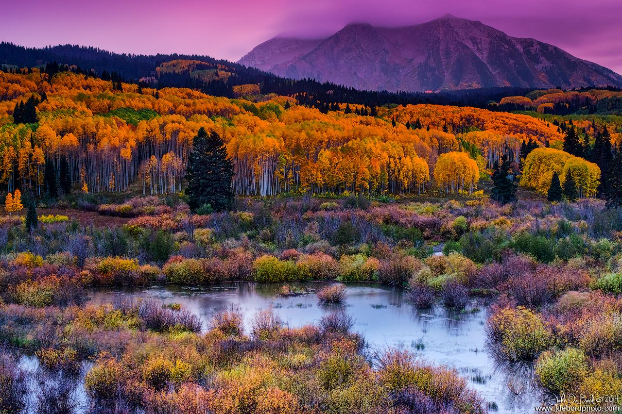 A Colorado Fall Along Kebler Pass by kkart
