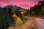 Sunrise Along Kebler by kkart