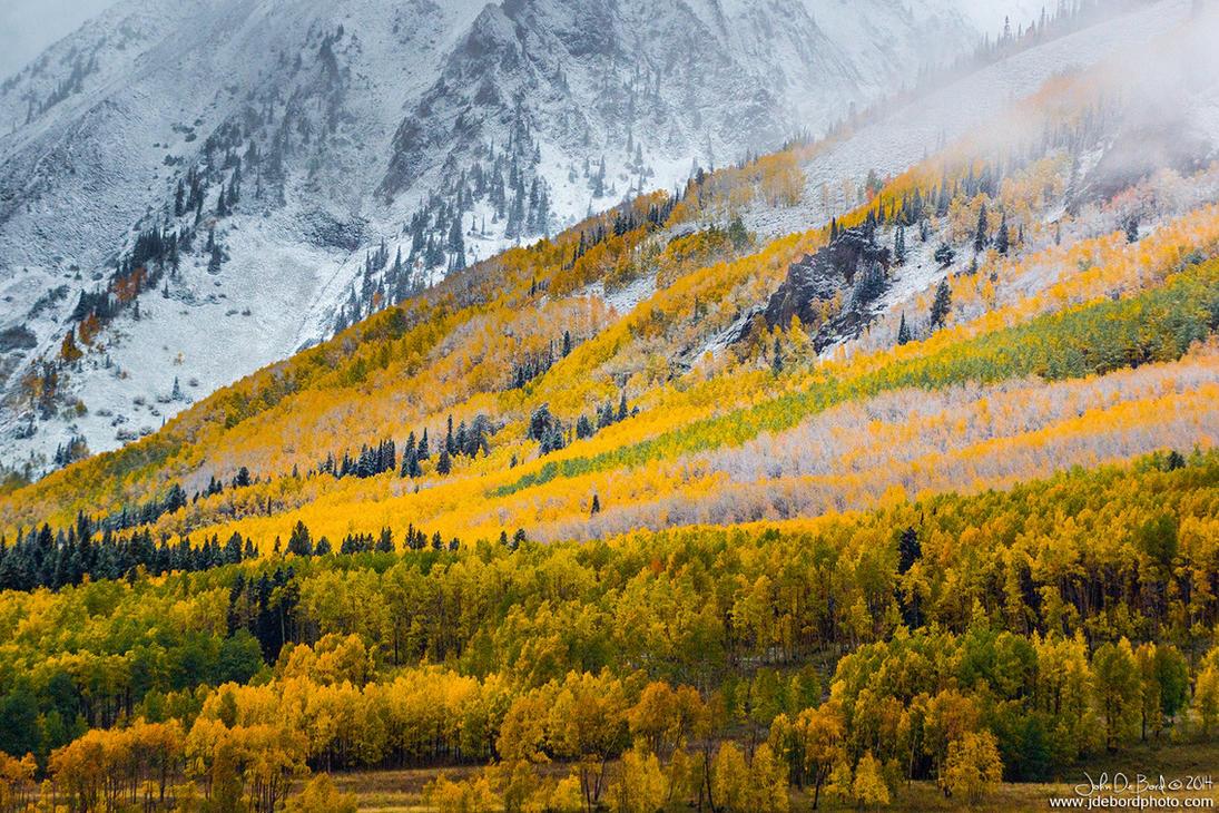 A Fall Hillside by kkart