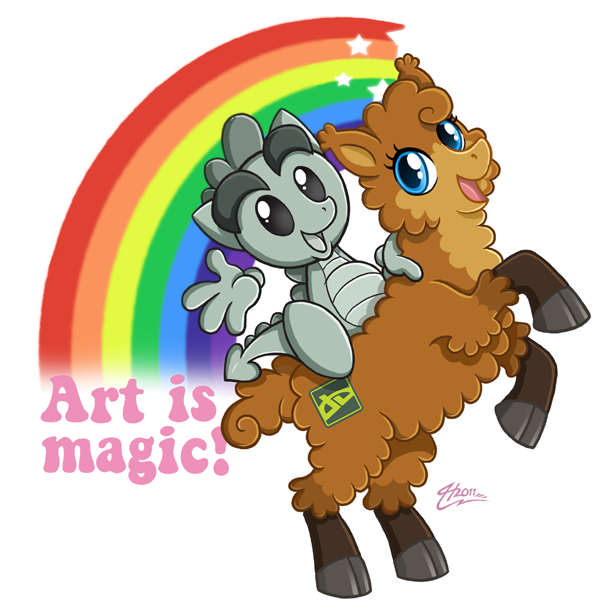 Art is magic by MacGreen