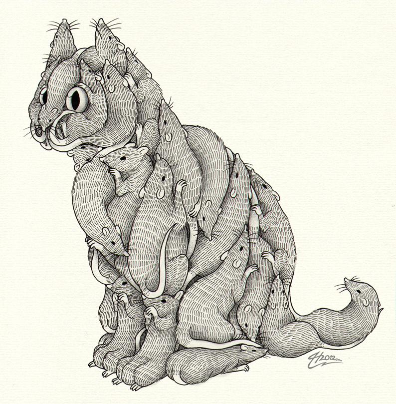 ratcat by MacGreen