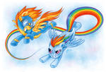 MLP: Dash and Spitfire by MacGreen