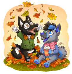 Autumn leaves -commission-