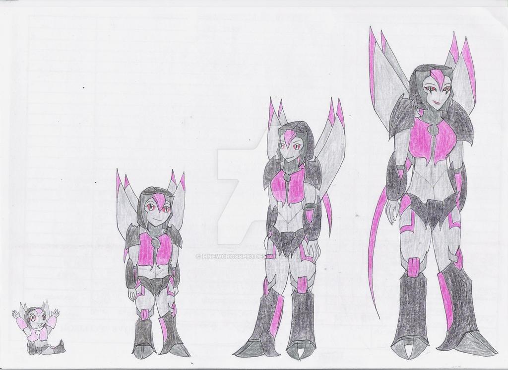 Megara: Age Chart by TsukinoNekoHime