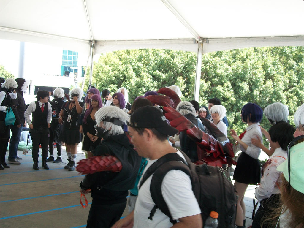 Anime Expo 2016 Tokyo Ghoul Gathering 001 By Angelbeatslen
