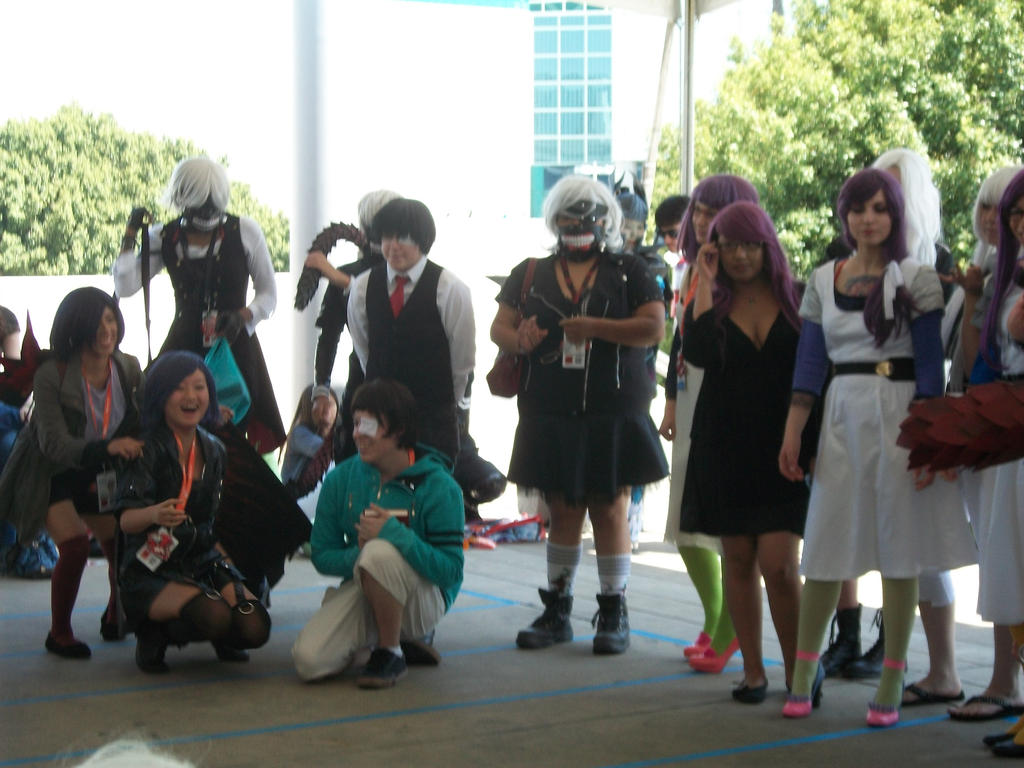 Anime Expo 2016 Tokyo Ghoul Gathering 002 By Angelbeatslen