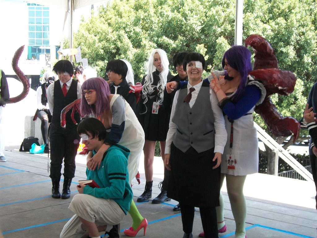 Anime Expo 2016 Tokyo Ghoul Gathering 035 By Angelbeatslen