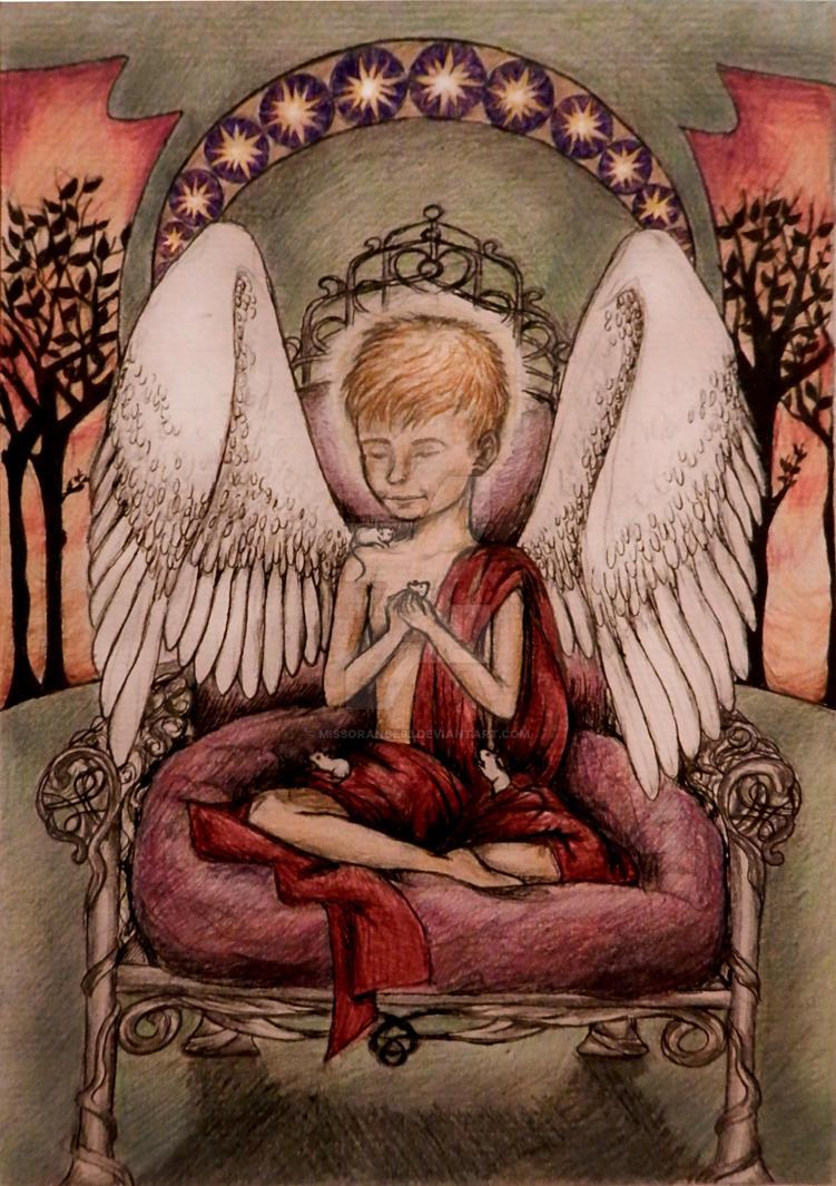 Archangel Michael Except Not by missorange93