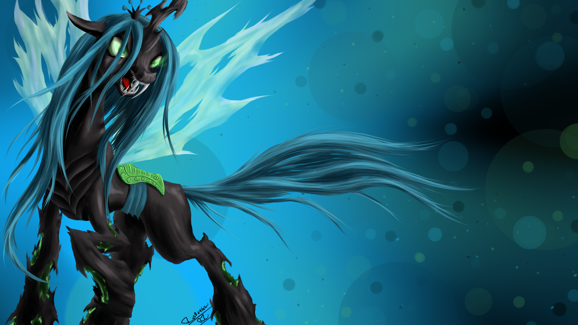 Queen of the Changelings by ROBBERGON