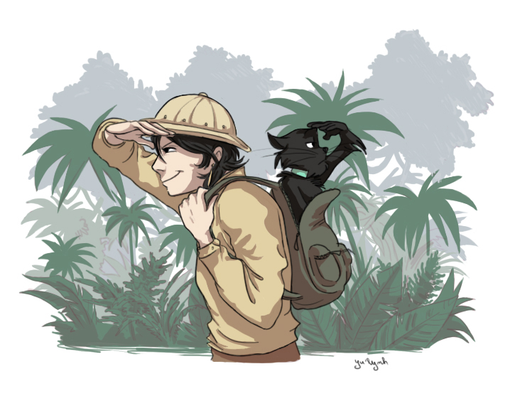 Lost in a jungle by Adlynh