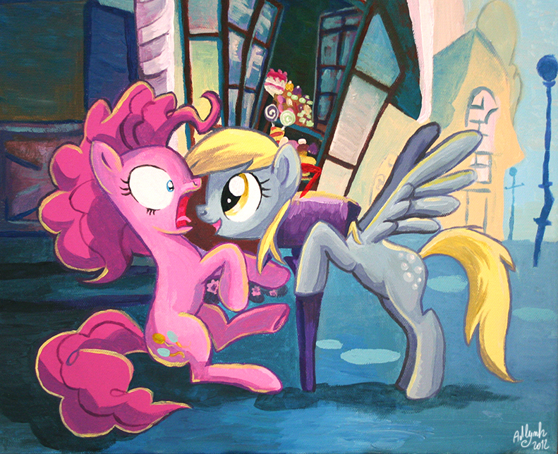 Pinkie and the derp mail