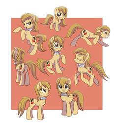 Pony Dolly attitude by Adlynh