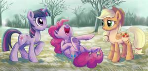 Ponies with fur