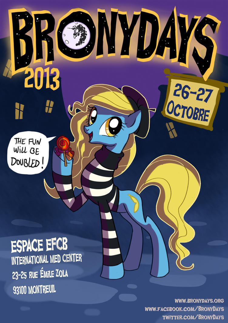 Bronydays poster by Adlynh