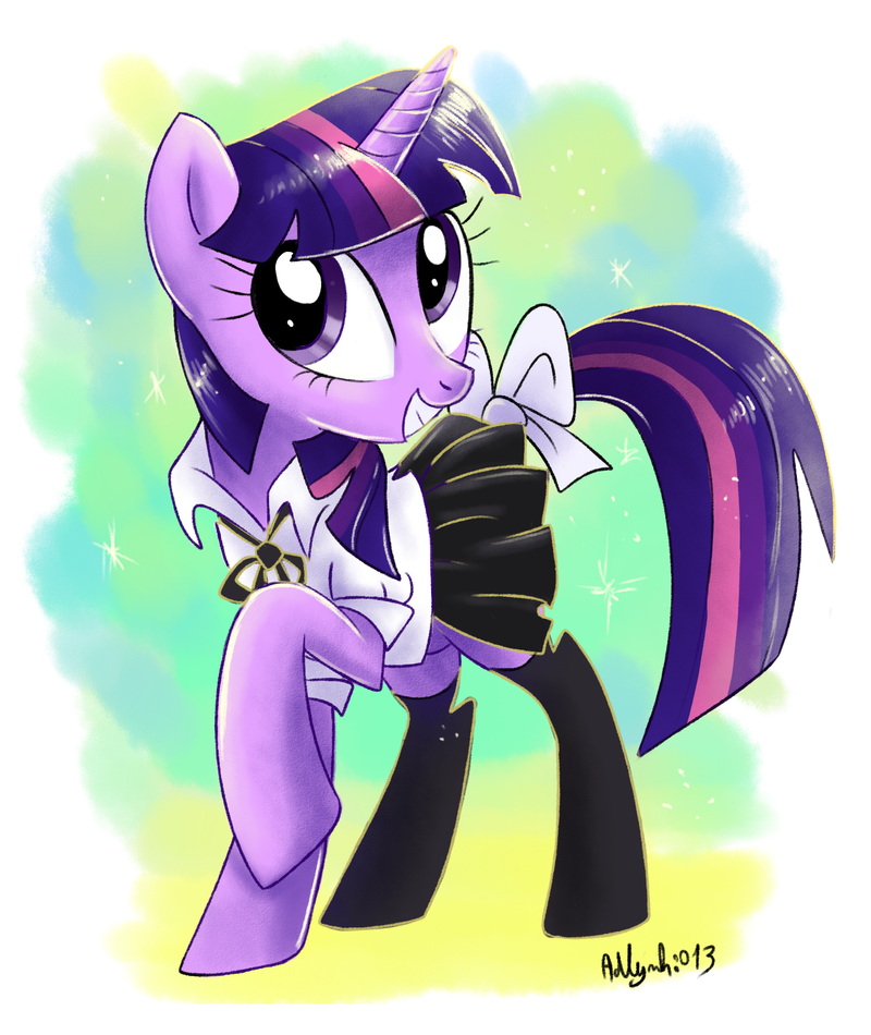 Twilight Sparkle commission by Adlynh
