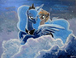The princess of the night by Adlynh
