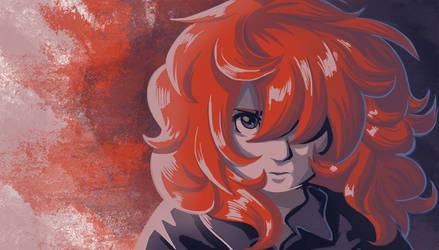 Red hair by Adlynh