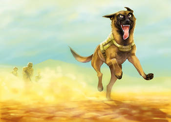 War Dog by Adlynh