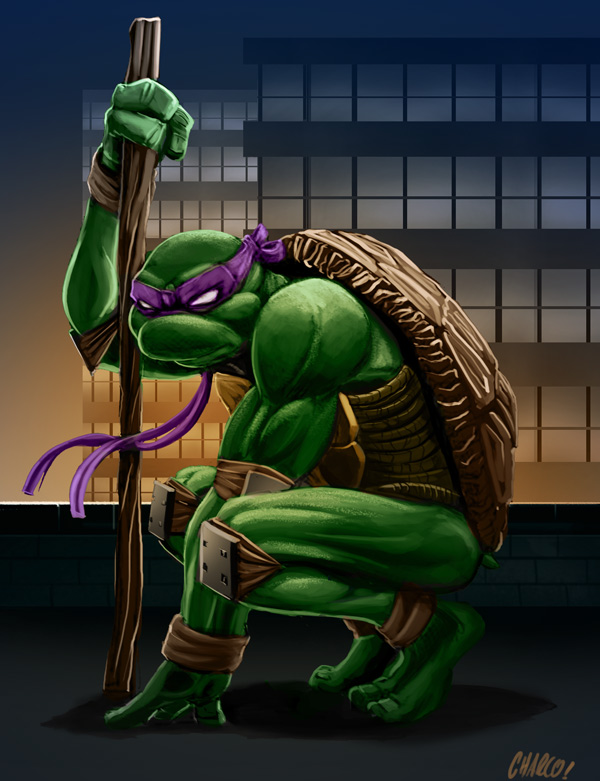 Donatello by charco