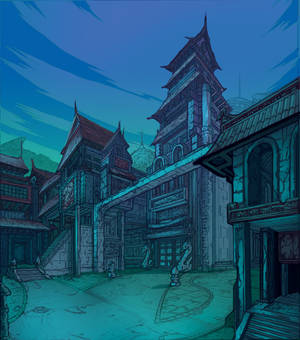 EXT Monastery by Solblight