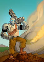Atomic Robo by charco
