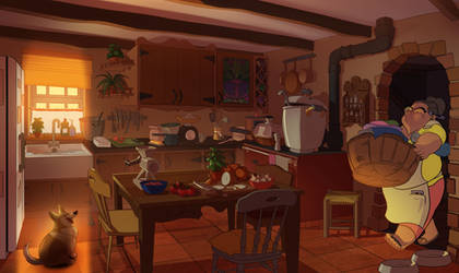 Kitchen Cleaned 03