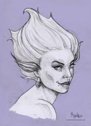 Young Ursula by umimarina