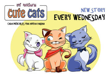 Cute Cats Comic by umimarina