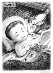 Jesus is born by umimarina