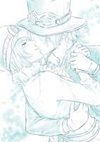 Our Kiss by EzariaUmiko