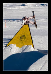 Snowboard: Assplant Wallride by nofreename