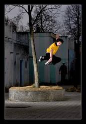 Rollerblading: Treetap II by nofreename