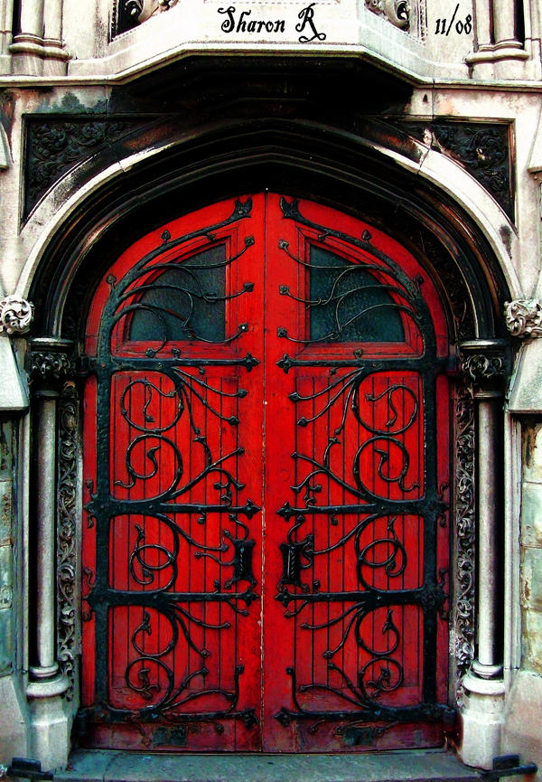 Behind The Red Door By Gothic Mystery On DeviantArt