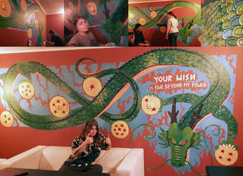 MURAL - Shenron the Eternal Dragon! by jeanwoof
