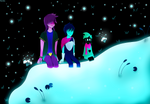 Somewhere Together [DELTARUNE CONTEST ENTRY] by Itorilan