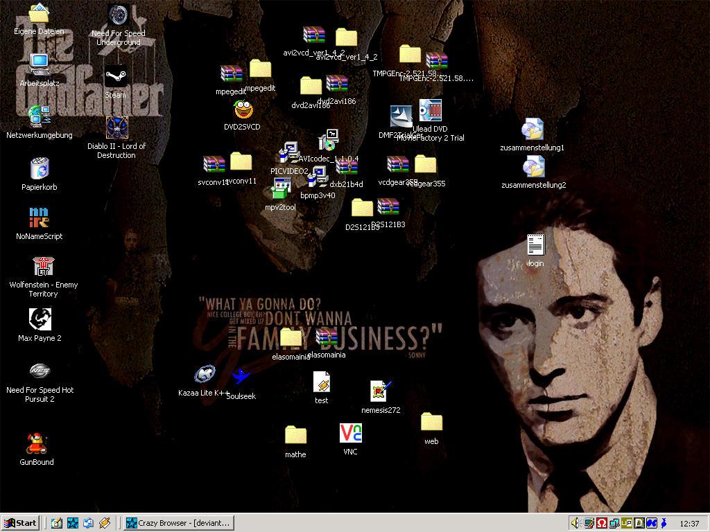 My desktop - 09.12.2003