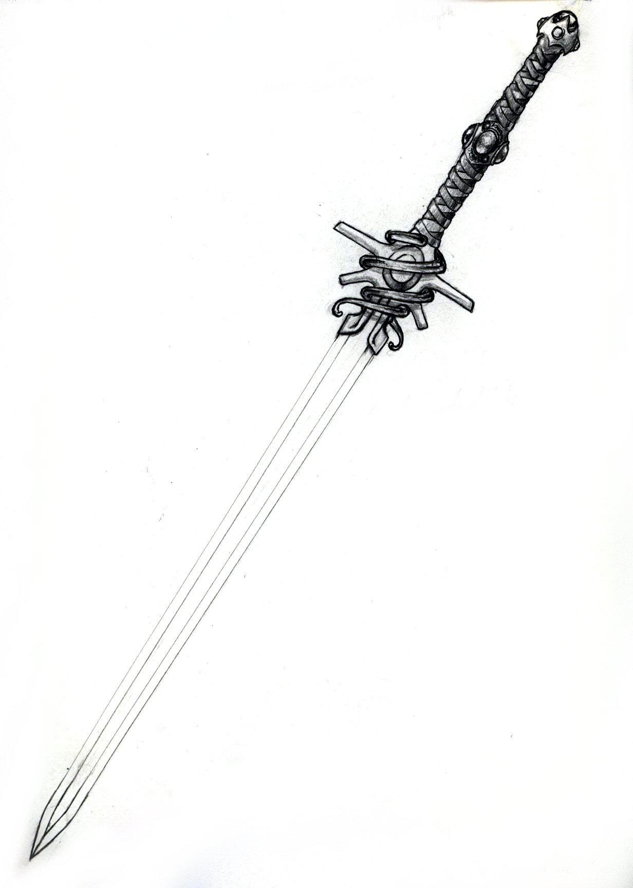 Amethyst Sword-Pen and Pencil by Gerak on DeviantArt