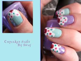 Cupcakes Nails by Toxic-Sway