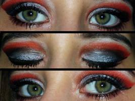 Disney Vilain Cruela Devil Make Up Eyes by Toxic-Sway