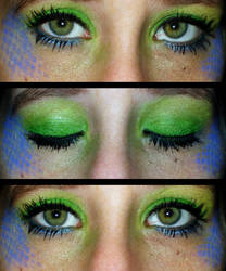 Exotic Mermaid Make Up by Toxic-Sway
