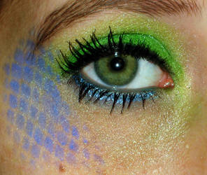 Exotic Mermaid Make Up Eye by Toxic-Sway