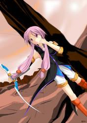 Kiri archer by Sword-of-Orion-Mirii
