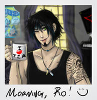 Morning, Rowan by NightJinx