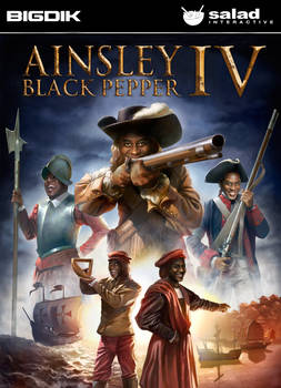 Ainsley Black Pepper IV