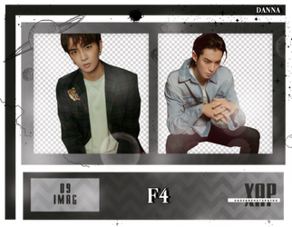 Pack Png 452 // F4 (METEOR GARDEN CAST). by xAsianPhotopacks