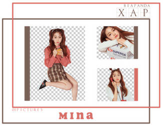 Pack Png 678 // Mina (GUGUDAN) by xAsianPhotopacks