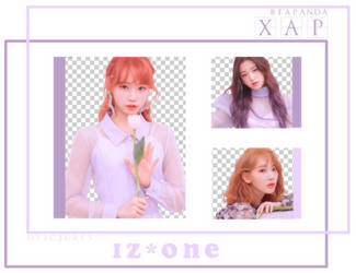 Pack Png 690 // IZ*ONE by xAsianPhotopacks